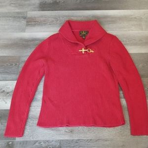 Ralph Lauren | Red Sweater